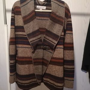 Sweaters - Belted Front Sweater/Cardigan